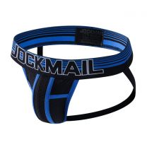 Jockmail Bright Mesh Jockstrap Blue