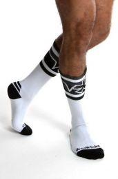 AssTricks Pocket Socks Monochrome White