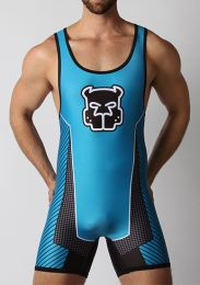 Cellblock 13 Kennel Club Scout Singlet Turquoise