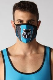 Cellblock 13 Kennel Club Scout Face Mask Turquoise