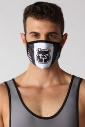 Cellblock 13 Kennel Club Scout Face Mask White