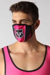 Cellblock 13 Kennel Club Scout Face Mask Pink