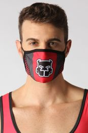 Cellblock 13 Kennel Club Scout Face Mask Red