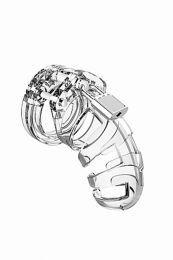 Mancage No 2 Chastity 3.2 Inch Cock Cage Clear