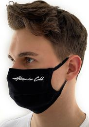 Alexander Cobb Double Layer Face Mask Black
