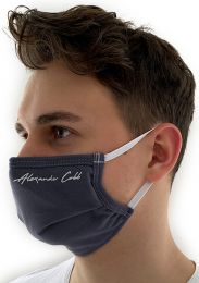 Alexander Cobb Double Layer Face Mask Grey