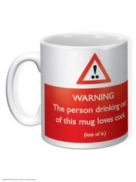 Warning! Loves Cock Mug