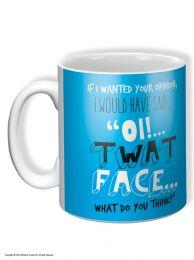 Oi! Twat Face Mug
