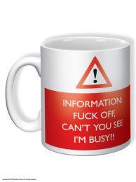 Fuck Off I'm Busy Mug