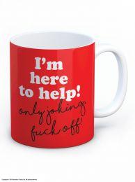 Here to Help Mug