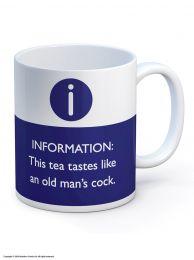Old Mans Cock Mug