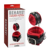 Behave Wrist Restraints Black Red