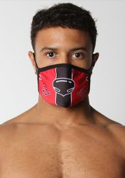Cellblock 13 Puppy Nose Mask Red