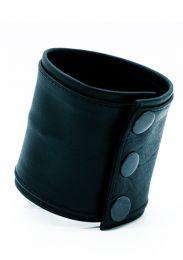 ruff GEAR Double Tone Leather Wrist Strap Wallet Black