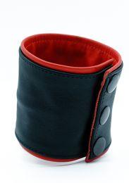 ruff GEAR Double Tone Leather Wrist Strap Wallet Red Black