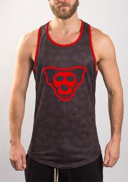 ruff GEAR Hound Tank Top Red