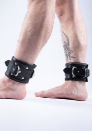 ruff GEAR Leather Padded Locking Ankle Restraints