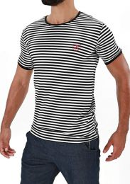 TOF Paris Sailor T Shirt Navy White