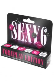 Sexy 6 Dice Board Game Foreplay Edition
