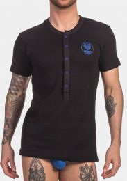 Barcode Berlin Shirt Dante Black Royal