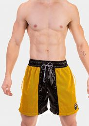 Barcode Berlin Short Leo Black Yellow