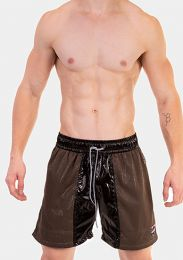 Barcode Berlin Short Leo Black Green