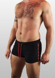 ruff GEAR Berlin Tape Short Black Red
