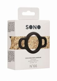 Sono No 66 Silicone Cock Ring With Handles