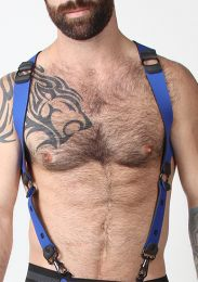 Cellblock 13 Spartan Reversible Harness Blue