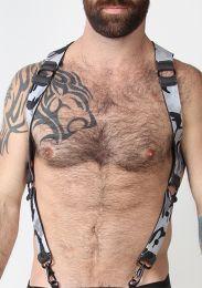 Cellblock 13 Spartan Reversible Harness Camo Grey