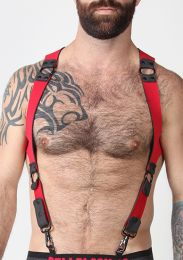 Cellblock 13 Spartan Reversible Harness Red