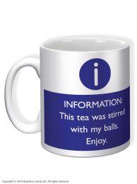 Stirred With My Balls Mug
