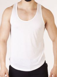 Barcode Berlin Tank Top Tabo White