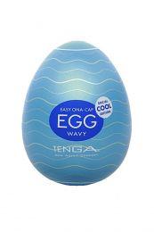 Tenga Egg Wavy Cool Edition Masturbator