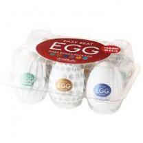 Tenga Egg 6 Pack Hard Boiled Masturbators