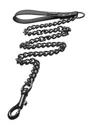 Tom Of Finland Gun Metal Leash
