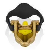 Oxballs Urinal Piss Gag Black Gold