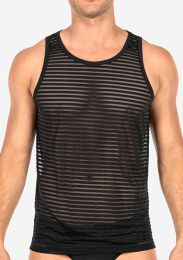 TEAMM8 Gemini Sheer Tank Black