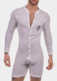 Barcode Berlin Union Suit Piero White Black
