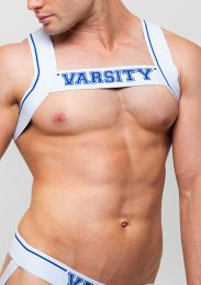 Varsity Quarterback Harness Blue