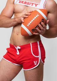 Varsity Quarterback Shorts Red