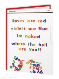 Roses are red (WCV070)