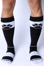 Cellblock 13 Kennel Club Alpha Knee High Sock White
