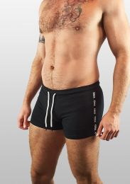 ruff GEAR Berlin Tape Short Black White