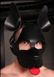 Mr S Leather WOOF! Muzzle Leather Black