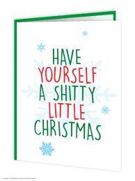 Shitty Little Christmas Card